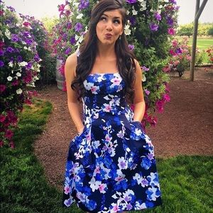 Ralph Lauren Flower Print Dress